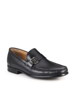 Bally | Side-Bit Leather Loafers