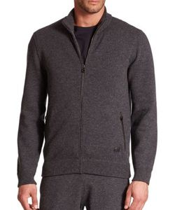 Salvatore Ferragamo   Full Zip Cashmere Sweater