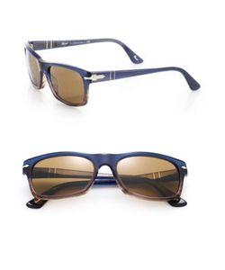 Persol | 57mm Square Sunglasses