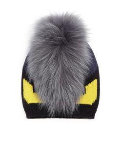 Fendi | Monster Fur-Trimmed Wool Hat