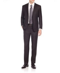 Canali | Solid Wool Suit