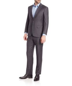 Canali | Wool Two Button-Front Suit