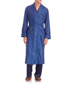DEREK ROSE | Paris Printed Cotton Robe