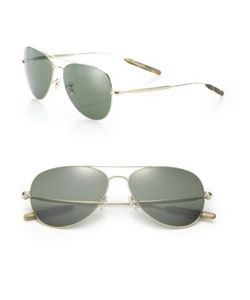 Paul Smith | Davidson 58mm Double-Bridge Aviator Sunglasses
