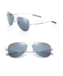 Paul Smith | Davison 58mm Double-Bridge Aviator Sunglasses