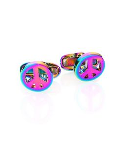Paul Smith | Peace Sign Cufflinks