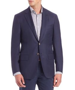 Isaia | Basic Wool Blazer