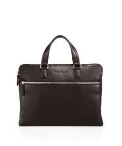 Salvatore Ferragamo | Manhattan Flat Leather Briefcase