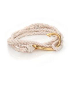 Miansai | Brass Hook Rope Bracelet