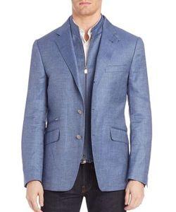Corneliani | Button-Front Wool-Blend Sportcoat