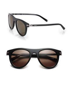 Salvatore Ferragamo | 51mm Round Sunglasses