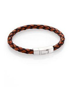 Tateossian | Scoubidou Braided Leather Bracelet