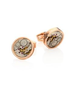 Tateossian | Skeleton Exposed Plated Limited Edition Cuff Links