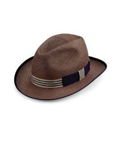 Barbisio | Panama Ribbon Hat