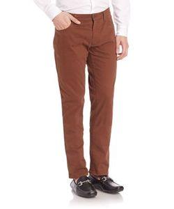 Salvatore Ferragamo   Twill Five-Pocket Pants