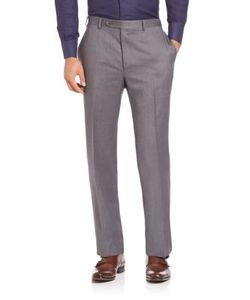 Canali | Wool Trousers