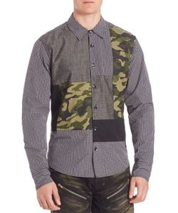 Prps | Regular-Fit Multi Media Woven Shirt
