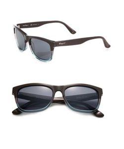 Salvatore Ferragamo | 55mm Wayfarer Sunglasses