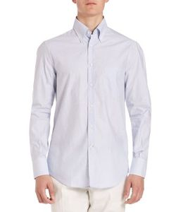 Brunello Cucinelli | Button-Down Micro Check Shirt