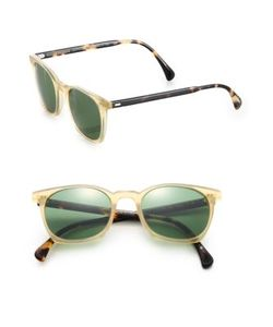 Oliver Peoples | L.A. Coen Square Sunglasses