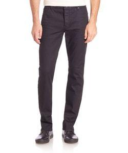 John Varvatos   Buttoned Slim-Fit Jeans