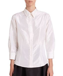 Carolina Herrera | Icon Collection Silk Taffeta Blouse