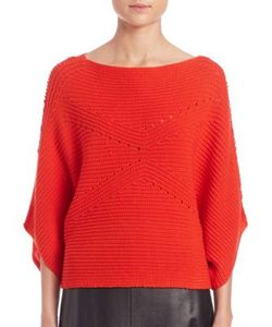 Tess Giberson | Moving Ribbed Cropped Sweater