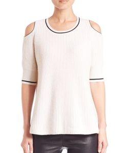 Zoe Jordan | Knitlab Mayer Cold-Shoulder Sweater