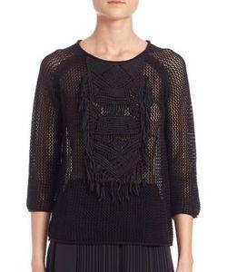 Tess Giberson   Macrame Sweater