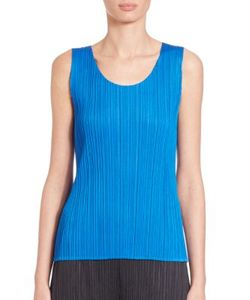 Pleats Please By Issey Miyake | Scoopneck Shell