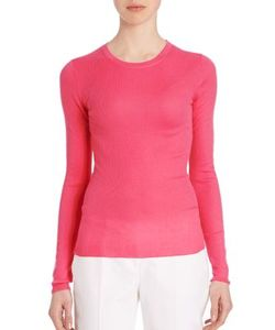 Michael Kors Collection | Fitted Cashmere Sweater