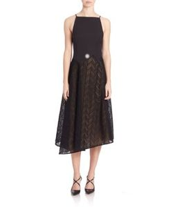Jason Wu | Herringbone Lace Midi Dress