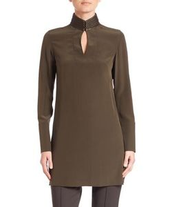 Akris | Silk Shantung Tunic