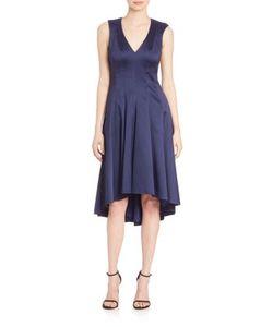 Badgley Mischka | V-Neck High Low Dress