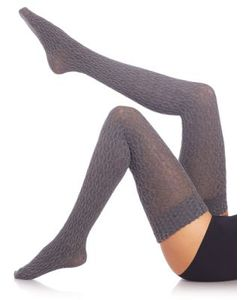 Fogal | Eyrin Cable-Knit Thigh Highs