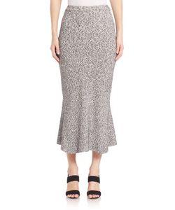 Tanya Taylor | Nylon Rib Rosa Knit Skirt