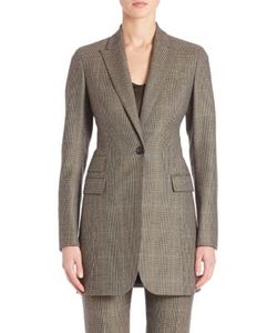 Akris | Falcon Wool Cashmere Check Jacket