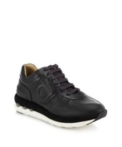 Salvatore Ferragamo | Morgan Leather Sneakers
