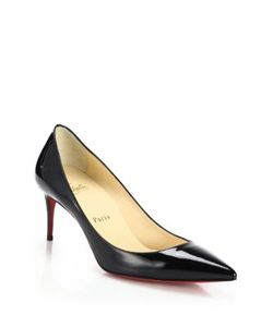 CHRISTIAN LOUBOUTIN | Decollete Patent Leather Pumps