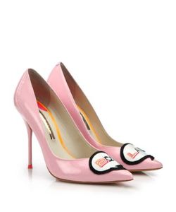 Sophia Webster | Boss Lady Patent Leather Pumps
