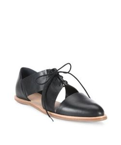 Loeffler Randall | Willa Cutout Leather Oxfords