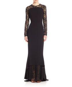 Talbot Runhof | Lace-Detail Gown