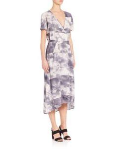 Zero + Maria Cornejo | Isie Clouds Stretch Silk Dress