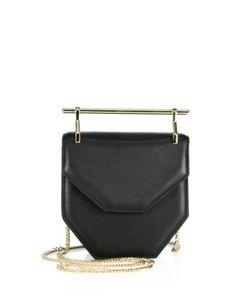 M2malletier | Leather Foldover Shoulder Bag