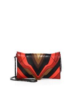 Elena Ghisellini | Selina Multicolor Leather Crossbody Bag