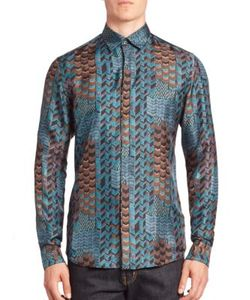 Salvatore Ferragamo | Printed Cotton Shirt