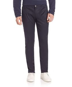 Ovadia & Sons | Five-Pocket Cotton-Blend Stretch Pants