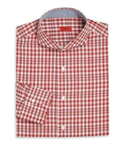 Isaia | Plaid Long-Sleeve Shirt