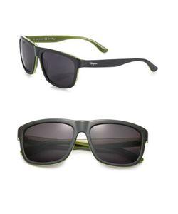Salvatore Ferragamo | 57mm Rectangular Sunglasses