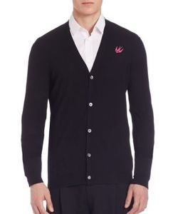 McQ | Swallow Front Button Cardigan